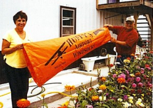 karen and gary hoffman of huffys windsocks